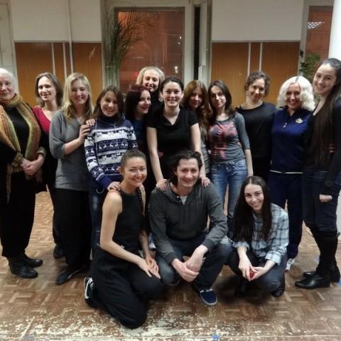 Актерские курсы: Зачет 26 февраля 2012 года