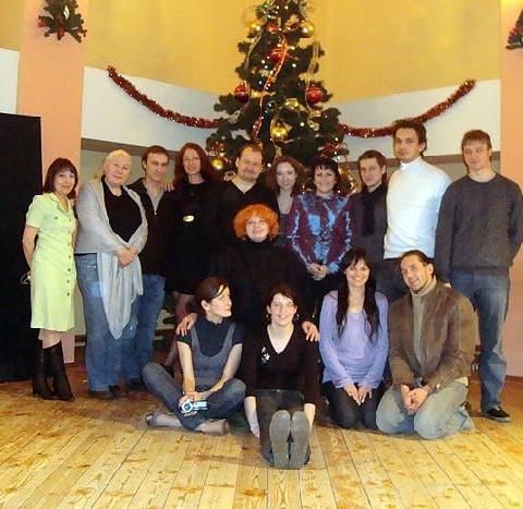 Новогодние посиделки (декабрь 2009)