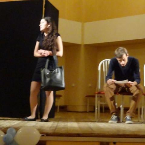 Актерские курсы: Зачет 7 февраля 2012 года